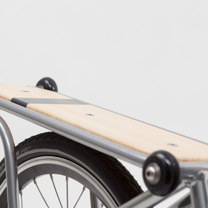Carrier for Ahooga Folding Bike