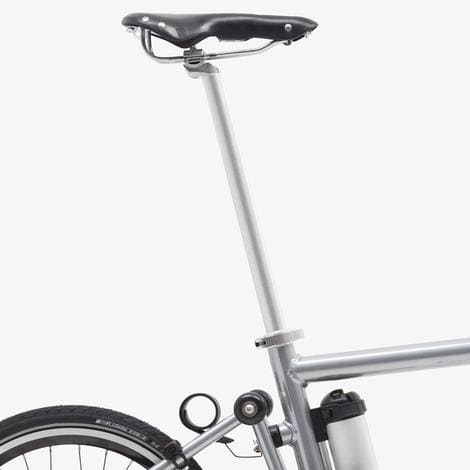 Extra-long-seatpost ahooga folding bike